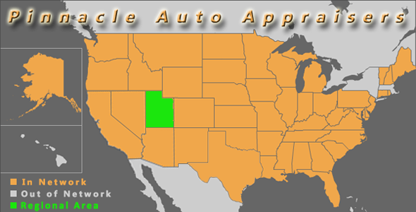 utah state map pinnacle auto appraiser appraisal dimished value
